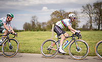 World Champion Julian Alaphilippe (FRA/Deceuninck - QuickStep)<br /> <br /> 55th Amstel Gold Race 2021 (1.UWT)<br /> 1 day race from Valkenburg to Berg en Terblijt; raced on closed circuit (NED/217km)<br /> <br /> ©kramon