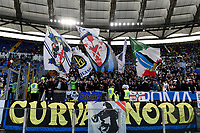 FC Internazionale fans cheer on during the Serie A football match between SS Lazio and FC Internazionale at Olimpico stadium in Rome (Italy), October 16th, 2021. Photo Andrea Staccioli / Insidefoto