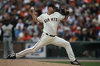 Jason Schmidt. Baseball: Pittsburgh Pirates vs San Francisco Giants at AT&T Park in San Francisco, CA on June 11, 2006. Photo by Brad Mangin