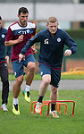 St Johnstone FC Training...<br /> Brian Easton<br /> Picture by Graeme Hart.<br /> Copyright Perthshire Picture Agency<br /> Tel: 01738 623350  Mobile: 07990 594431