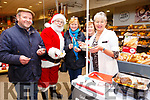 Garvey's Christmas Food Fair: Sampling the food at Garvey's Christmas Food Fair at their store in Listowel on Thursday last were Donal Enright, Santa Claus, Patricia O'Carroll, Kay Fitzgerald & Maureen Stack.