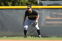 Pittsburgh Pirates infielder Walker Gourley (50) during a minor league spring training intrasquad game on March 30, 2014 at Pirate City in Bradenton, Florida.  (Mike Janes/Four Seam Images)