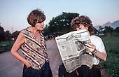 UNCED Earth Summit, Rio de Janeiro, 1992. Linda Rabben and Olimpio Serra