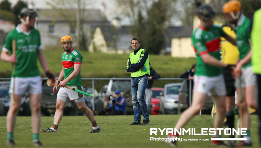 Drom Inch's James Woodlock during the Centenary Agri Mid Senior Hurling Championship Quarter Final between Loughmore/Castleiney and Drom Inch on Saturday 28th April 2018 at Templetuohy, Co Tipperary, Photo By Michael P Ryan