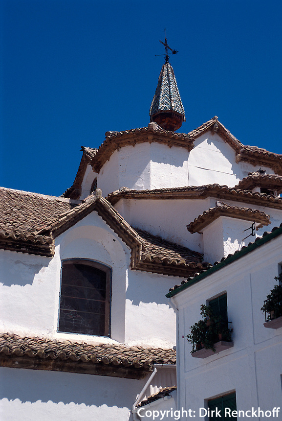 Spanien, Andalusien, Kirche Iglesia La Asuncion in Priego de Cordoba