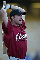 Adam Everett of the Houston Astros during a 2003 season MLB game at Dodger Stadium in Los Angeles, California. (Larry Goren/Four Seam Images)