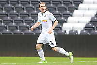 Sunday 18 March 2018<br /> Pictured:  Aaron Lewis of Swansea City<br /> Re: Swansea City v Manchester United U23s in the Premier League 2 at The Liberty Stadium on March 18, 2018 in Swansea, Wales.