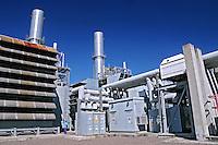 Usina Termoelétrica a Gás de Araucária. Paraná. 2008. Foto de Zig Koch.