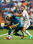 Daniel Carvajal Ramos of Real Madrid in action during their La Liga match at the Santiago Bernabeu Stadium between Real Madrid and RC Celta de Vigo on 27 August 2016 in Madrid, Spain. Photo by Diego Gonzalez Souto / Power Sport Images