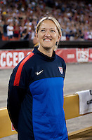 Dawn Scott. The USWNT defeated Mexico, 7-0, during an international friendly at RFK Stadium in Washington, DC.  The USWNT defeated Mexico, 7-0.