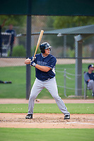 AZL Padres first baseman Cole Rutherford (56) at bat against the AZL White Sox on July 31, 2017 at Camelback Ranch in Glendale, Arizona. AZL White Sox defeated the AZL Padres 2-1. (Zachary Lucy/Four Seam Images)