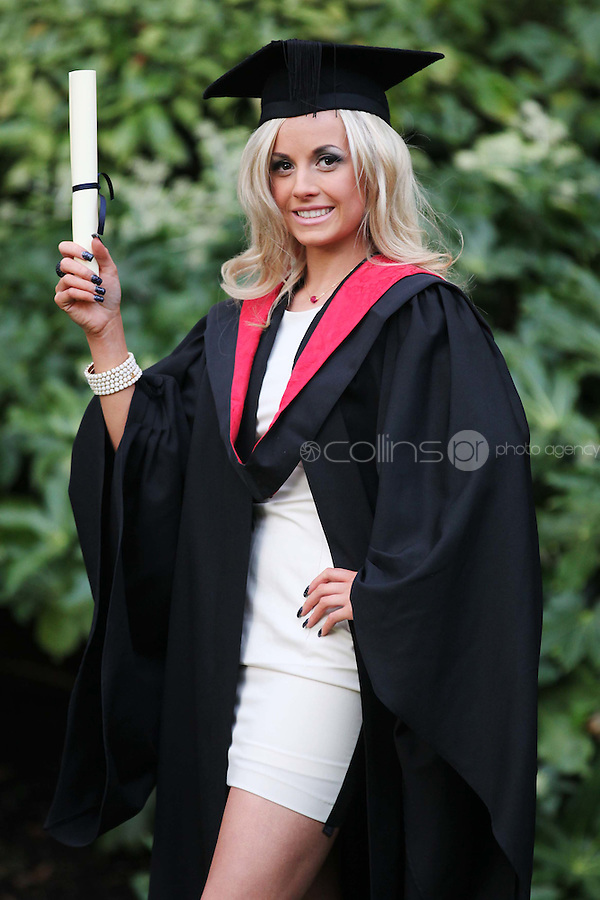 NO REPRO FEE. 25/11/2011. Independent College Dublin graduations.  Claire Graydon from Dundrum who recieved a MA in Dispute resolution is pictured after graduating from Independent College Dublin. For more info please contact Annie Leger annie.leger@independentcolleges.ie.T: +353 1 635 5811.Picture James Horan/Collins
