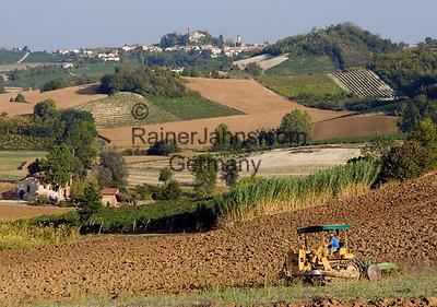 Italien, Piemont, Weinberge und Weinort Sala Monferrato | Italy, Piedmont, vineyards around Sala Monferrato