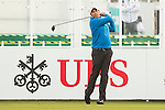 Arjun Atwal of India tees off the first hole during the 58th UBS Hong Kong Open as part of the European Tour on 08 December 2016, at the Hong Kong Golf Club, Fanling, Hong Kong, China. Photo by Marcio Rodrigo Machado / Power Sport Images