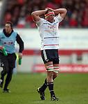Mick O'Driscoll.RaboDirect Pro 12.Scarlets v Munster..Parc Y Scarlets.21.04.12.©Steve Pope