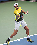August 27,2019:  Matteo Berrettini (ITA) defeated Richard Gasquet (FRA) 6-4, 6-3, 2-6, 6-2, at the US Open being played at Billie Jean King National Tennis Center in Flushing, Queens, NY.  ©Jo Becktold/CSM