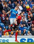 05.05.2018 Rangers v Kilmarnock: James Tavernier and Kirk Broadfoot