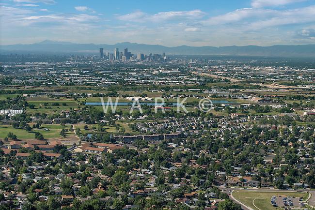 Denver looking southwest. Aug 20, 2014. 812757