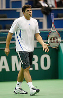 20-2-06, Netherlands, tennis, Rotterdam, ABNAMROWTT, 20-2-06, Netherlands, tennis, Rotterdam, ABNAMROWTT, Dent in action against Berdych
