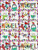 Isabella, GIFT WRAPS, GESCHENKPAPIER, PAPEL DE REGALO, Christmas Santa, Snowman, Weihnachtsmänner, Schneemänner, Papá Noel, muñecos de nieve, paintings+++++,ITKEBR1367,#gp#,#x#