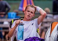 Hilversum, Netherlands, August 8, 2018, National Junior Championships, NJK, Jesper de Jong (NED)<br /> Photo: Tennisimages/Henk Koster