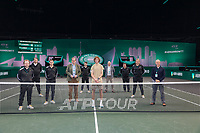Rotterdam, The Netherlands,7 march  2021, ABNAMRO World Tennis Tournament, Ahoy,  <br /> Final: Andrey Rublev (RUS) wins.<br /> Photo: www.tennisimages.com/