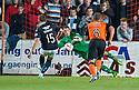 Dundee Utd keeper Radoslaw Cierzniak saves Dundee Utd's Greg Stewart's penalty.