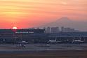 Sunset at Haneda Airport