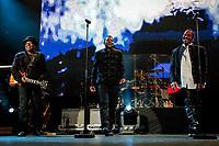 SÃO PAULO, SP 16.03.2019: THE JACKSONS-SP - A banda The Jacksons, formada pelos irmãos Tito, Jackie, Marlon e Jermaine, se apresentou na noite desta sexta (16), no Espaço das Américas, zona oeste da capital paulista. Na ocasião, a banda se apresentou sem Jermaine, que cancelou sua participação na turnê sul-americana por problemas de saúde. (Foto: Ale Frata/Codigo19)