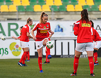 20190227 - LARNACA , CYPRUS : Austrian Sarah Puntigam pictured during a women's soccer game between the Super Falcons of Nigeria and Austria , on Wednesday 27 February 2019 at the AEK Arena in Larnaca , Cyprus . This is the first game in group C for both teams during the Cyprus Womens Cup 2019 , a prestigious women soccer tournament as a preparation on the Uefa Women's Euro 2021 qualification duels. PHOTO SPORTPIX.BE | DAVID CATRY