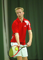 10-3-06, Netherlands, tennis, Rotterdam, National indoor junior tennis championchips, Roy Bruggeling