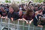 Crowd at Soundwave Festival 2013, Flemington Racecouse, Melbourne, 1 March 2013
