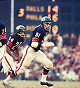 Chicago Bears Dick Butkus (52) during a game from career with the Chicago Bears. Dick Butkus played 9 years, all for the Chicago Bears. He was a 8-time Pro Bowler, 5-time first team Pro Bowler and was inducted to the Pro Football Hall of Fame in 1979.(SportPics)