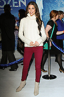 "HOLLYWOOD, CA - NOVEMBER 19: Samantha Harris at the World Premiere Of Walt Disney Animation Studios' ""Frozen"" held at the El Capitan Theatre on November 19, 2013 in Hollywood, California. (Photo by David Acosta/Celebrity Monitor)"