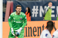 FOXBOROUGH, MA - APRIL 24: Chris Seitz #1 of D.C. United in game portrait during a game between D.C. United and New England Revolution at Gillette Stadium on April 24, 2021 in Foxborough, Massachusetts.