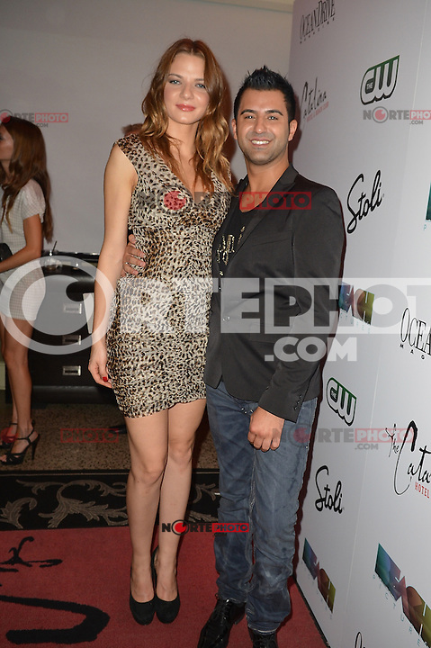 MIAMI BEACH, FL - MAY 22: Morgan More and Jorge Morena attend The Catalina reality show premiere party at Catalina Hotel on May 22, 2012 in Miami Beach, Florida. (photo by: MPI10/MediaPunch Inc.)