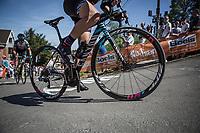 Mur de Huy.<br /> <br /> 21st La Flèche Wallonne Femmes <br /> 1 day race: Huy - Huy (118,5KM)