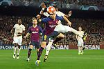 UEFA Champions League 2018/2019.<br /> Quarter-finals 2nd leg.<br /> FC Barcelona vs Manchester United: 3-0.<br /> Fred vs Arthur.