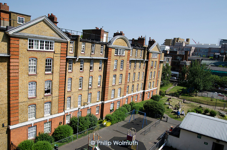 Camden Council housing: Bourne Estate, Holborn