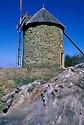 22/05/06 - ALLY - HAUTE LOIRE - FRANCE - Moulin a vent sur le Plateau d Ally - Photo © Jerome CHABANNE