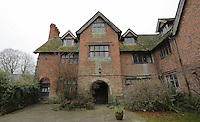Pictured: The house of Sidney Nolan Friday 02 December 2016<br /> The Sidney Nolan Trust, Rodd, Herefordshire, England, UK