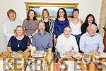 Enjoying the evening out in Bella Bia on Friday.<br /> Seated l to r: Eileen Davis, Michael Dowling, Tom Barrett and John O'Sullivan.<br /> Back l to r: Siobhan O'Mahoney, Karen Condon, Leanne Ryan, Geraldine Cotter, Siobhan Fitzpatrick and Aine Mac Fhearghusa.