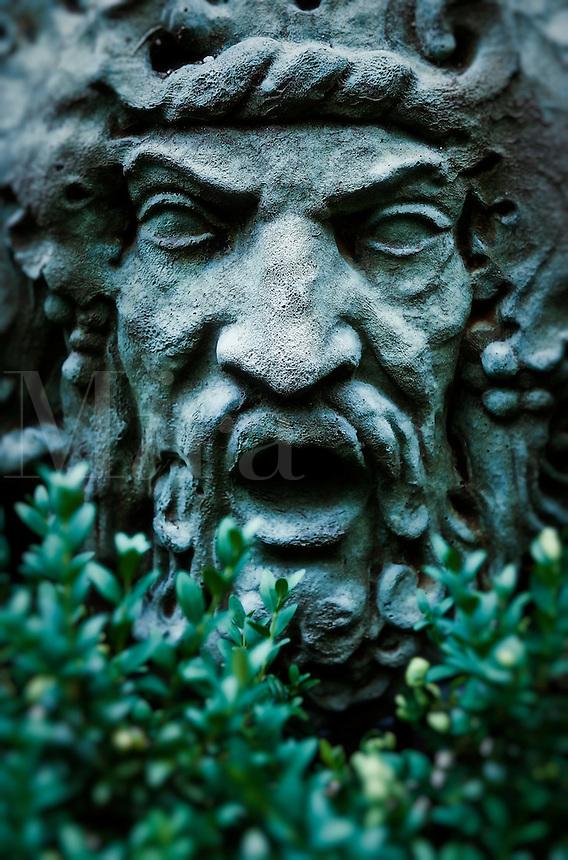 Mythical garden statuary