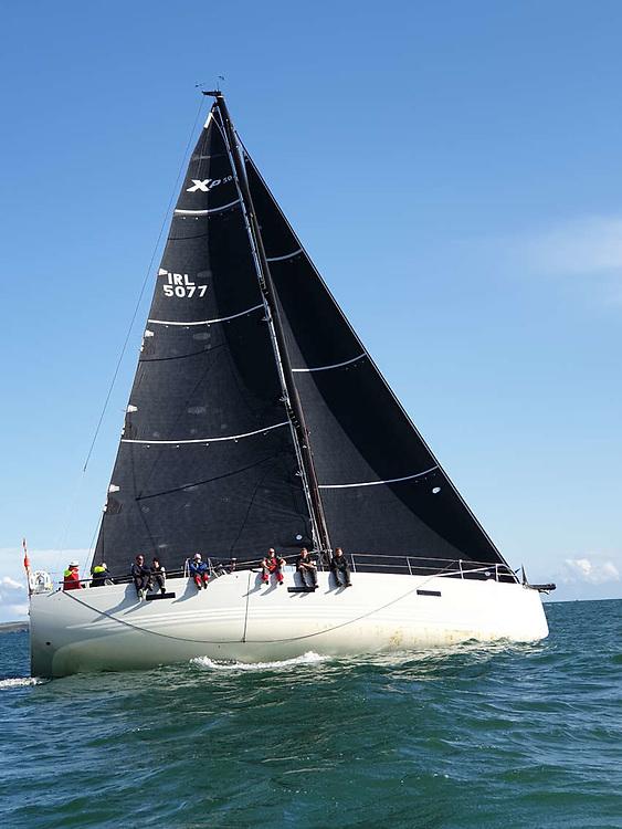 Freya flying her North Sails ENDURANCE 3Di Mainsail and Code 2 Jib