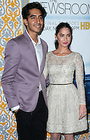 LOS ANGELES, CA, USA - NOVEMBER 04: Dev Patel, Olivia Munn arrive at the Los Angeles Season 3 Premiere Of HBO's Series 'The Newsroom' held at the DGA Theatre on November 4, 2014 in Los Angeles, California, United States. (Photo by Xavier Collin/Celebrity Monitor)