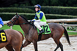 February 28, 2021: Oochie #12 , ridden by Joseph Rocco, Jr. in the Downthedustyroad Breeders Stakes for trainer John Alexander Ortiz at Oaklawn Park in Hot Springs,  Arkansas.  Ted McClenning/Eclipse Sportswire/CSM
