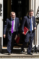(From L to R) David Mundell MP (Secretary of State for Scotland) & David Gauke MP (Chief Secretary to the Treasury).<br />