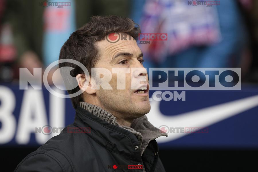 RCD Espanyol's Joan Francesc Ferrer during La Liga match between Atletico de Madrid and RCD Espanyol at Wanda Metropolitano Stadium in Madrid, Spain. December 22, 2018. (ALTERPHOTOS/A. Perez Meca) /NortEPhoto.com