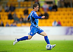 St Johnstone v Queen of the South...21.09.10  CIS Cup 3rd Round.Chris Millar scores to make it 3-0.Picture by Graeme Hart..Copyright Perthshire Picture Agency.Tel: 01738 623350  Mobile: 07990 594431