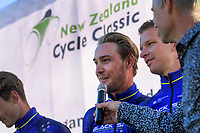 The opening ceremony of the NZ Cycle Classic UCI Oceania Tour at Queen Elizabeth Park in Masterton, New Zealand on Tuesday, 14 January 2020. Photo: Dave Lintott / lintottphoto.co.nz